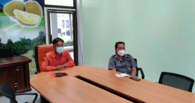 การประชุมหารือแนวทางการดำเนินการปลูกสมุนไพร (ฟ้าทะลายโจร)